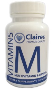 Clairesvitamins- Multi